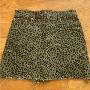 Zara women mini skirt